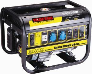 2000 Watts de energia portátil gerador a gasolina com EPA, CARB, marcação, Soncap Certificado (YFGF2500)