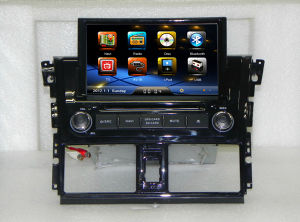 В ПРИБОРНОЙ ПАНЕЛИ Car системы Navi GPS для Toyota Vios 2014 с поддержкой системы RDS iPod Bt ТВ SWC слот для карт памяти SD USB