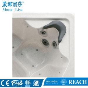 Rectângulo com piscina e hidromassagem acrílico spa banheira de hidromassagem (M-3322)