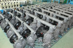 La presión de aire bomba de diafragma operadas