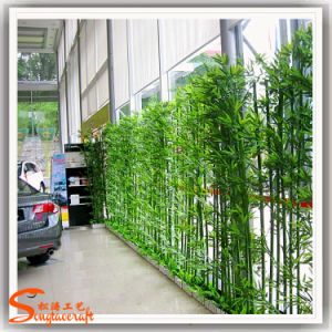 A decoração do Jardim das Plantas de bambu da sorte Artificial