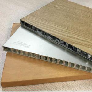 Panneau en aluminium de nid d'abeilles de sandwich pour décoratif intérieur