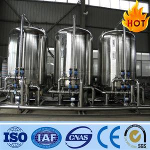 De roestvrij staal Geactiveerde Filter van de Koolstof voor het Systeem van de Behandeling van het Water