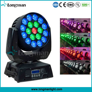 UL 19PCS 15W RGBW LEDの移動ヘッド洗浄の据え付け品