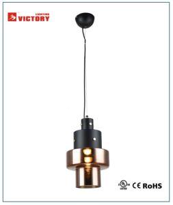 新しいデザイン銅のガラス吊り下げ式ライト