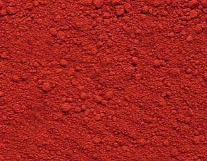 Het rode Gebruik van het Oxyde van het Poeder Ijzer in Verf, Inkt, Rubber
