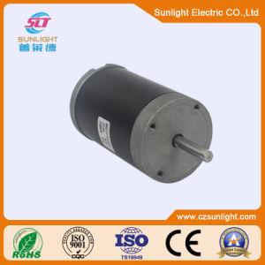 24V 80W del motor eléctrico de cepillos industriales de motor DC