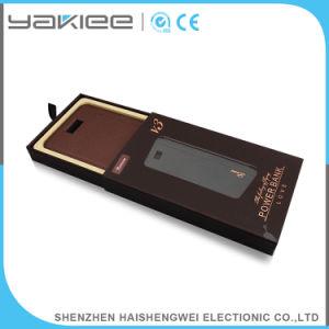 Pantalla LCD portátil personalizado de alimentación Cargador de banco móvil de emergencia