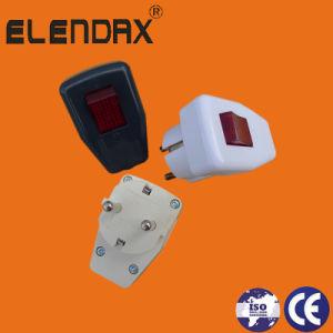 2-контактный штекер питания электрического заземления стандартного (P7051)