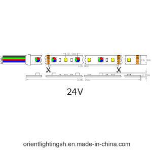 UL CE5628 SMD RGB+W 96 LEDs/M 6500K levou a luz Fita Flexível