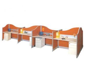 Seis asientos ergonómicos Profesional Oficina Útil estación de trabajo (SZ-WST659)