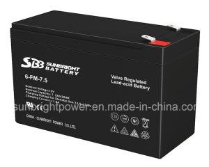 高品質のRechargeable UPS 12V7.5ah Lead Acid Deep Cycle Battery