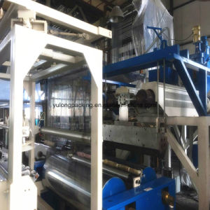 De gietende Duidelijke PE van de Omslag van de Pallet LLDPE Plastic Film van de Rek