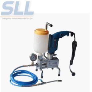 Máquina de inyección de cemento de alta presión 6m3/H Capacidad Mini bomba de pistón/bomba de concreto