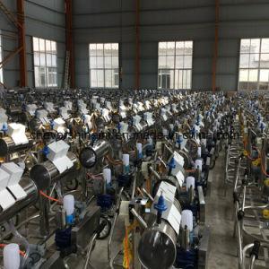 ステンレス鋼のバレルが付いている電気搾り出す機械