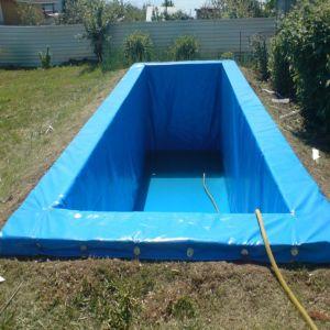 Flexible und faltbare Belüftung-Plane für Fisch-Teich-Becken