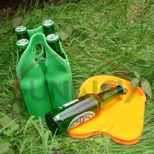 Sacchetto del dispositivo di raffreddamento del bevanda del neoprene di modo 4-Pack o della bottiglia da birra (BC0033)