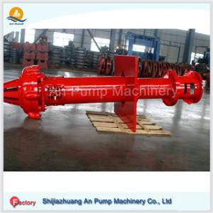 Pompa centrifuga verticale sommergibile resistente dei residui