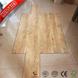 U biseauté Groove AC3 E1 les planchers laminés 12mm