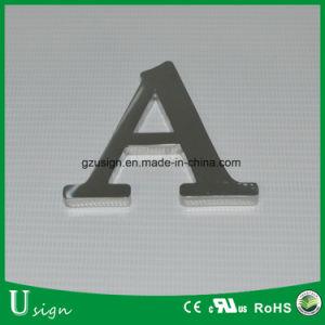 Acabado de espejo corte plano del canal de acero inoxidable carta
