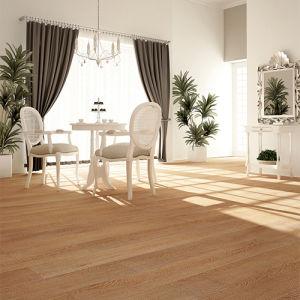 Uniclic Capuchino Oak Pisos de bambú)