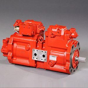 Pompa idraulica K3V112 completo dell'escavatore della Hyundai R210-7