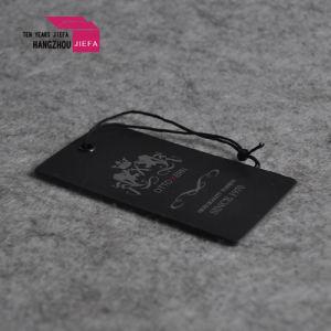 Logo de marque personnalisée pendre UV Carton Papier tag tag/Swing
