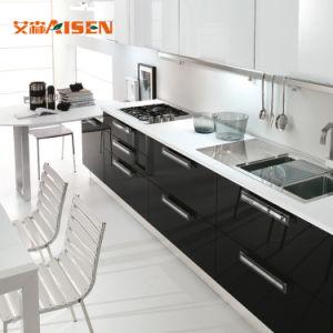 Mobília moderna cozinha 2018 mobiliário antigo Reprodução de armário de cozinha italiana