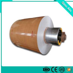 Revestimiento de color bronce dorado de la bobina de aluminio para panel compuesto