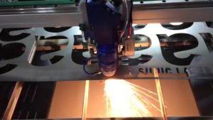 Laser de fibra de tamanho grande máquina de corte de metais 3000x1500mm