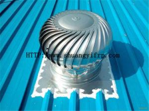 De wind Gedreven Turbine van het Ventilator van het Dak Opgezet op het Dak van de Fabriek