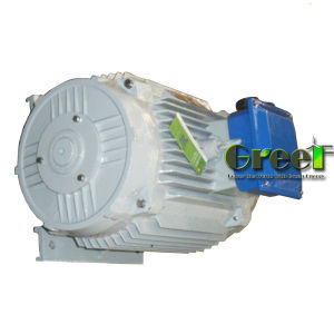 45kw 3 Fase AC baixa velocidade/rpm gerador de Íman Permanente síncrono para hidro e utilização do vento