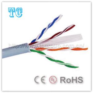 Кабель LAN кабеля 23AWG Ce/RoHS сети кота 6 UTP
