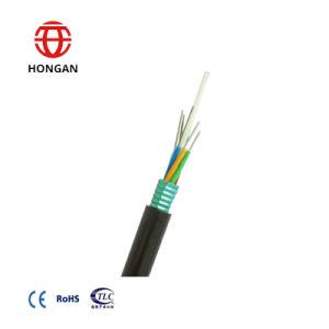 Cabo de fibra óptica exterior a força de PRFV os cabos blindados de Aço