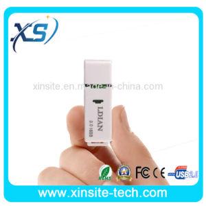 Полной Емкости пластмассовые белый USB флэш-диски оптом (XST-U025)