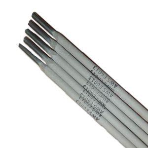 China Proveedor de acero al carbono templado de electrodos de soldadura E6013 E7018