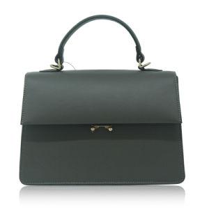 Simple Moda PU Oficina de cuero Bolsos de señora de la bolsa de Crossbody