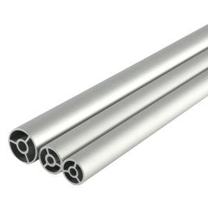 Extrusão de Alumínio Liga 6000 Frio Perfil elaborado o tubo de alumínio