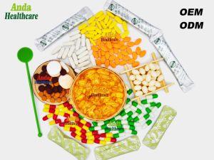 低い免除(60 softgels/のびん)のための自然な食糧ヘルスケアの製品の無農薬食品の緑食糧皮の美の自然なビタミンE Softgel