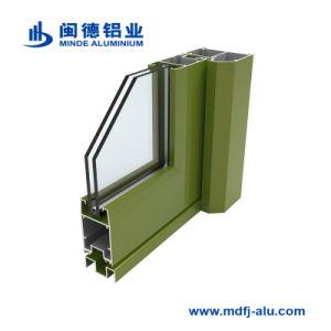 Portes et fenêtres en aluminium de matériel de profil