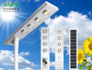 20W/30W/40W/50W/60W/80W/100W/120 W tout-en-un/Rue solaire LED extérieur intégré avec le capteur de mouvement d'Éclairage jardin