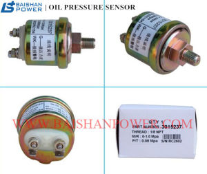 piezas de repuesto del motor diesel del Sensor de presión de aceite de carretilla 3015237