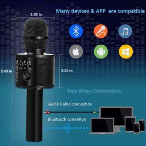 Портативный Bluetooth пение машины для детей дома караоке и Группа