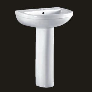 Muebles de baño de cerámica para el lavado de manos (No. YR22)
