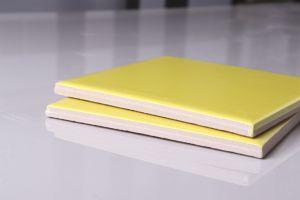 4  *4  de Matte Gele Binnenlandse Tegel van de Tegel van Backsplash van de Tegel van de Badkamers van de Ceramiektegel 100X100