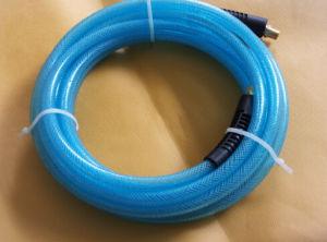 투명한 파랑 1/4  X 50 Ft 폴리우레탄 공기 호스