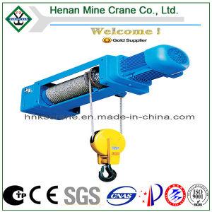 CE Certificado GOST Cuerda eléctricos tirando de una grúa con pulsador de mando (HC Modelo).