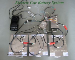 Motor del coche eléctrico
