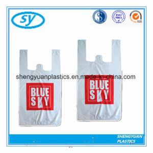 カスタマイズされる印刷されたおよびサイズのプラスチックベストのショッピング・バッグ