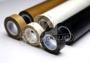 PTFE покрытием из стекловолокна клейкую ленту с выпуска Пап (YS7015AJ)